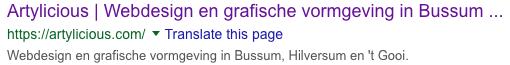 webdesign bussum