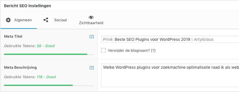 Beste SEO Plugins voor WordPress 2019 - SEO Framework