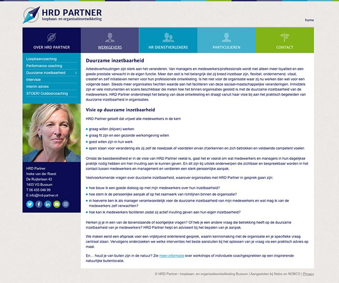 WordPress Website HRD Partner