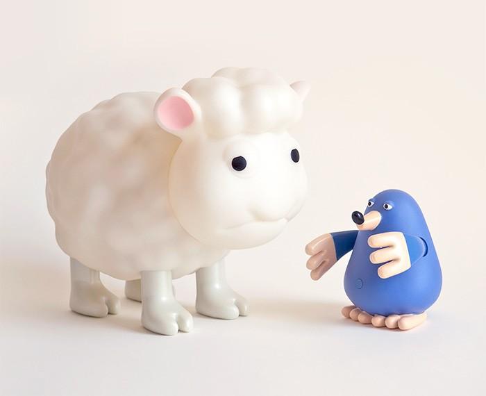 Ontwerp 3D kinder speelgoed en lamp