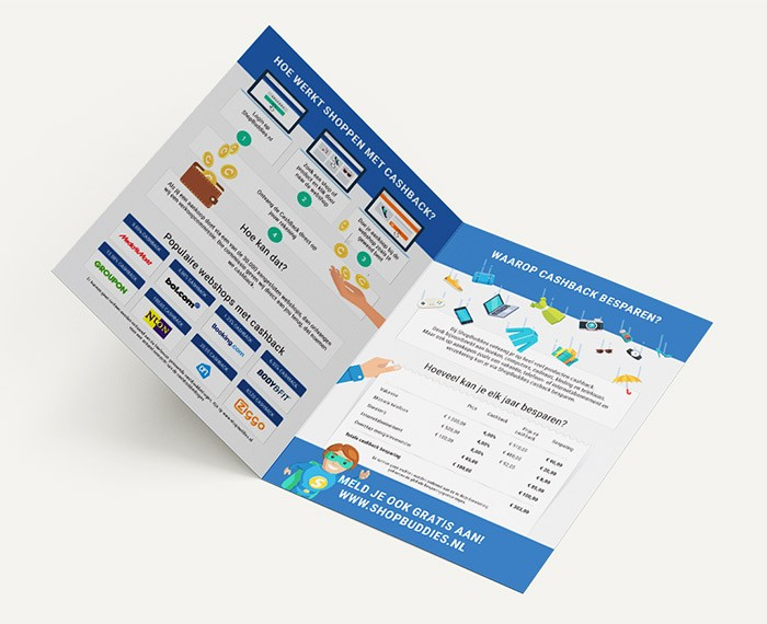 Ontwerp ShopBuddies Folder